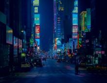 Broadway in Blue
