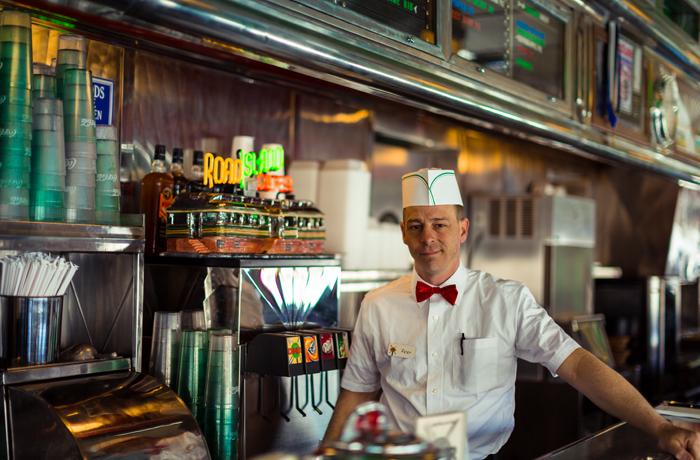 Petey of Road Island Diner