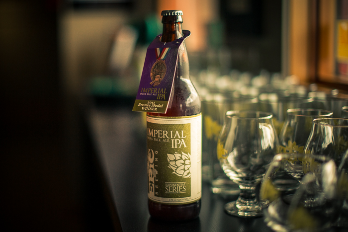 The Imperial IPA, winner of the Bronze Medal at the 2011 Great American Beer Festival