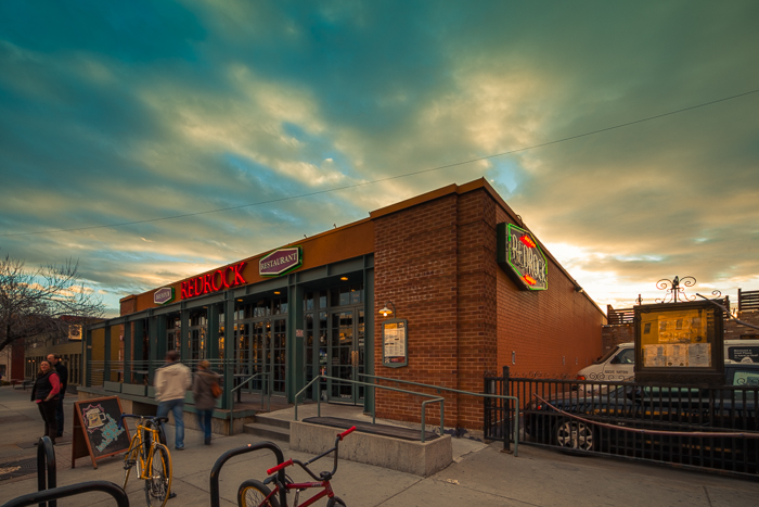 The brew pub of Red Rock Brewing Company