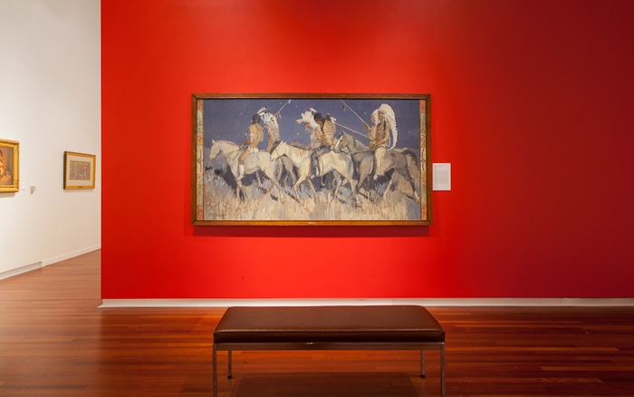 "Minerva Bernetta Kohlhepp Teichert's ""Indian Captives at Night"""
